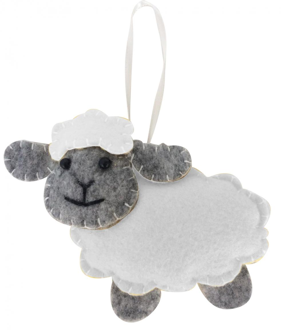Easter Cute Sheep Hanging Pendant Decorations