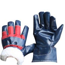 NMSAFETY conduire par temps froid utiliser des gants de travail d'hiver doublure polaire épais