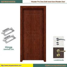 Puerta de madera del panel Puerta de madera interior Puerta de madera sin terminar