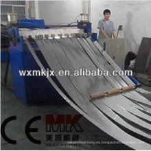 Máquina de corte longitudinal de bobinas metálicas Línea de corte longitudinal