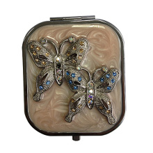 Double Butterflies Compact Mirrors