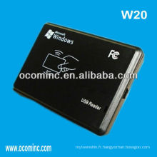 Temps de présence du lecteur de carte RFID -W20