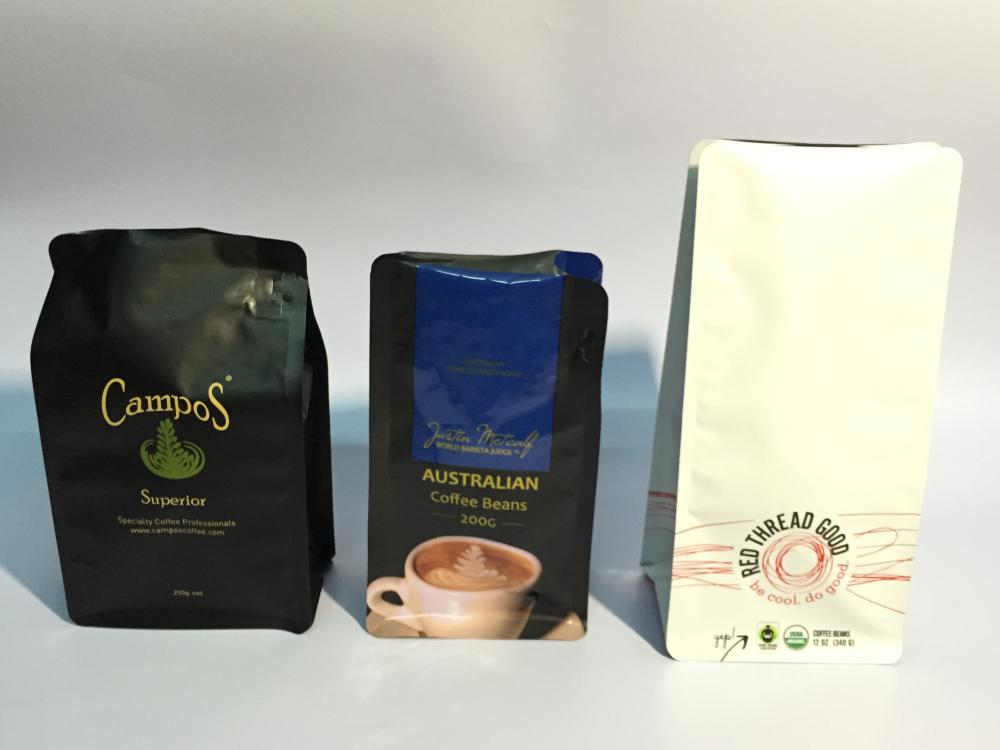 Coffee Bag with Degassing Valve