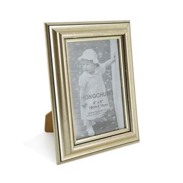 Handmade Classic Golden PS Photo Frame para Home Deco