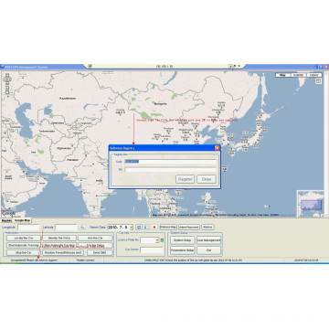 GPS Tracking System for Fleet Management (TS05-KW)