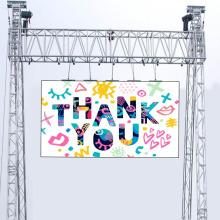 Panneau d'affichage mené extérieur polychrome de location d'affichage