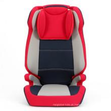 Assento de carro de segurança infantil de grupo 2 + 3 com padrão da UE