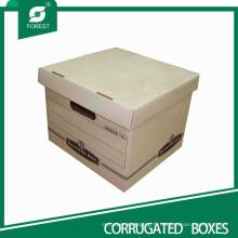 Boîte de fichier promotionnel solide avec boîte de couvercle