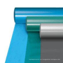 Membrana impermeable de alta calidad del PVC del cloruro de polivinilo para el tejado / el sótano / el garaje / el túnel (ISO)