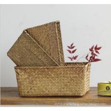 (BC-ST1085) Practical Pure Manual Natural Straw Basket