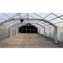 Hot Galvanized Steel Black out Curtain Greenhouse