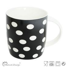 Classic Black and White New Bone China Mug