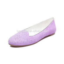 2015 Factory direct New Vintage Women's Casual Rivet Round Toe Ballet Flats Chaussures