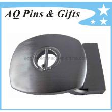 Boucle de ceinture occidentale sur mesure dans le placage antique (boucle de ceinture-003)