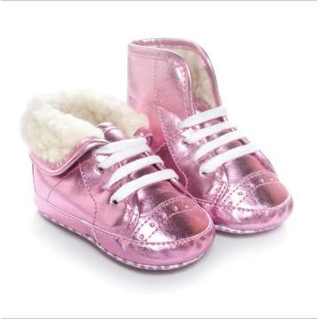 Китай Хорошая обувь Торговля Зимние стеганые Досуг Мягкие нижние детские сапоги
