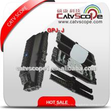 Cierre común horizontal de la fibra óptica de Gpj-J de la alta calidad / cierre que empalma de la fibra óptica
