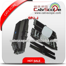 Fermeture de joint de fibre optique horizontale de haute qualité de Gpj-J / fermeture optique d'épissure de fibre