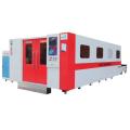 Máquina de corte de metal con láser de fibra