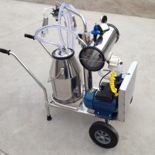 Máquina de ordeño móvil para vacas lecheras