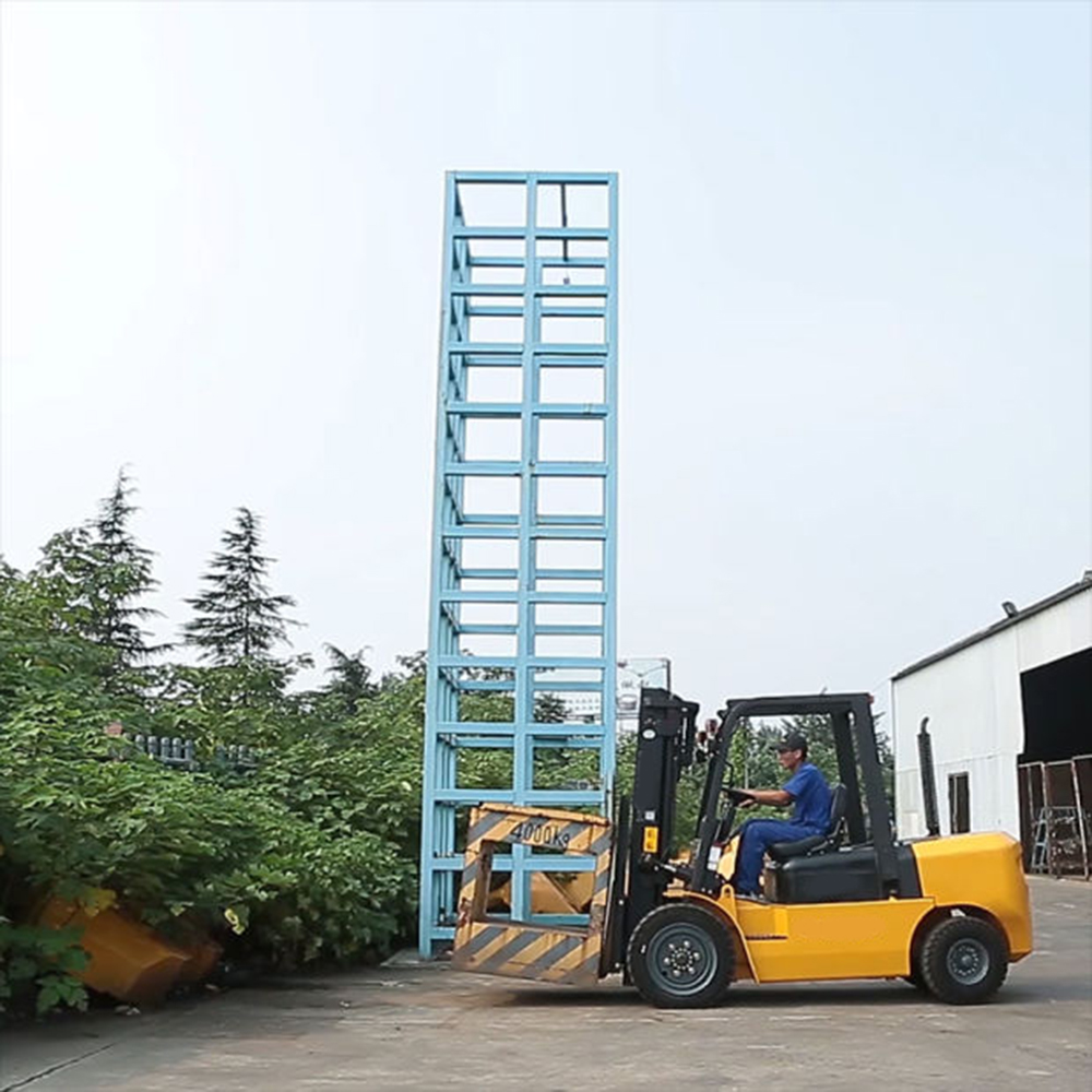 electric forklift truck used