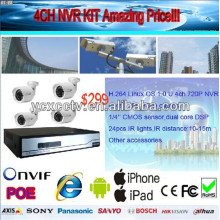 Cheap 4CH NVR Kit