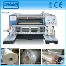 máquina de rebobinamento de folha de alumínio