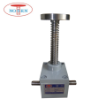 Heavy duty machine screw jacks lifting 200KN load