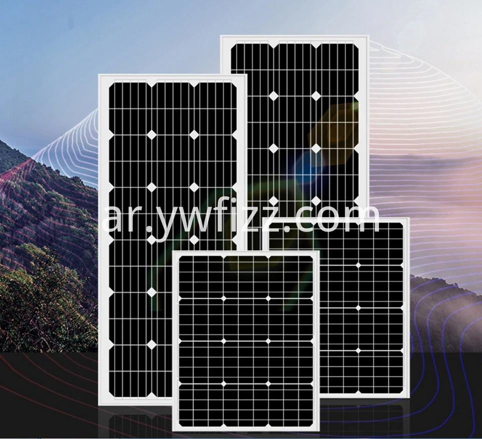 Single Crystal Silicon Power Photovoltaic Modules