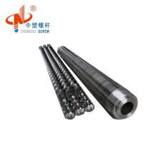 Zhoushan  nitriding extruder screw barrel for extrusion line