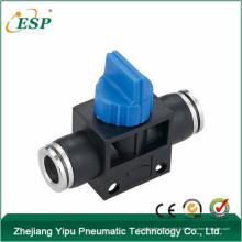HVFFM zhejiang yipu soupape corps noir avec des accessoires de tuyau d'air de bouton en laiton