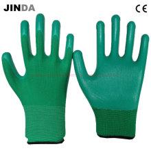 Защитные рабочие защитные перчатки с защитой от нитрила (NS011)
