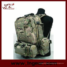 Ejército combate táctico del asalto Molle combinación mochila para acampar