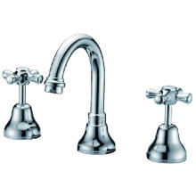 Watermark Approved Double Handle Basin Tap (G201)