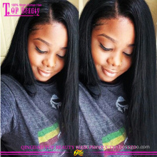 Top qulity natural hair wigs for black women wholesale chaep long hair natural scalp wigs
