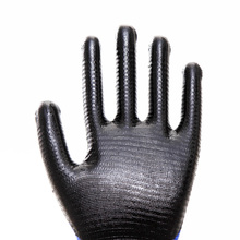 Firm Wavy Nitrile Anti-slip Durable Safety Gloves