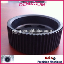 zinc lid with powder coating