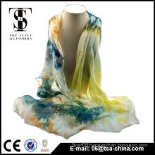 Fashion style hot selling tie-dye scarf
