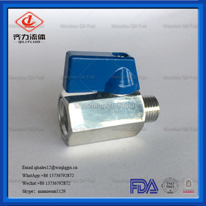 Stainless Steel Mini Ball Valve with Reduced-Bore