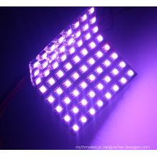 Matriz programável programável do pixel do diodo emissor de luz de 64leds / pc P10 8x8 apa102 rgb