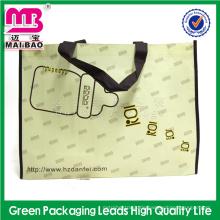 Neues Design Alibaba China benutzerdefinierte gedruckt laminiert faltbare nicht gewebte Tasche Hersteller
