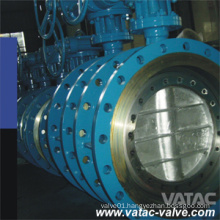 Gear Operated Flanged High Performance Butterfly Valve