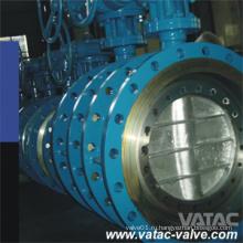 Высокоэффективный поворотный дисковый поворотный клапан с фланцевым приводом