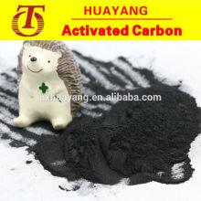 200 meshe polvo de carbón activado