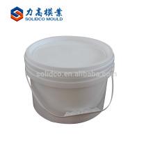 Moldeo por inyección plástico del cubo de la pintura del molde del cubo plástico de la inyección del fabricante profesional de China Manufacturers