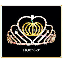 Diamante perla corona vado corona victoria partes corona flor tiaras chica