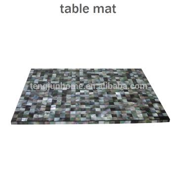 CBM-MP Nouveau style Nacre de nacre noir pour décoration de table