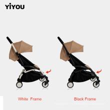 Asiento de seguridad para niños al aire libre, cuatro ruedas, manillar, cochecitos de bebé