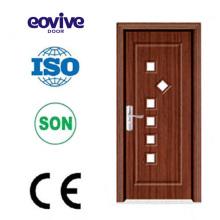 Marco de la puerta de pvc de alta calidad del Eovive puerta con impermeable