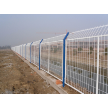 airport security fence temporary weld pipes fence ,pvc coated welded fence panel