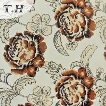 Цветочный Узор Печати Трикотажные Ткани